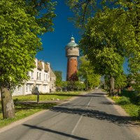 Водонапорная башня в Лабиау :: Игорь Вишняков