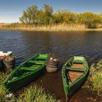 Лодки рыбаков :: Игорь Вишняков