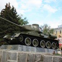 Легендарный Т-34 :: Владимир Холодницкий