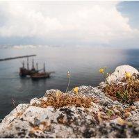 Жизнь на вершине скалы! Турция,Аланья. :: Александр Вивчарик