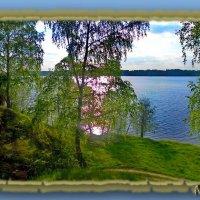 Широкая вода передо мной,  От вдохновенья ощущаю счастье.. :: Людмила Богданова (Скачко)