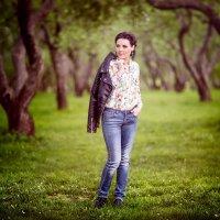 ♥♥♥ Анютка, вечер, Коломенское парк ♥♥♥ :: Alex Lipchansky