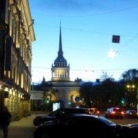 Адмиралтейство вечером :: Алексей Логинов