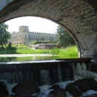 Под Карпином мостом :: Елена Павлова (Смолова)