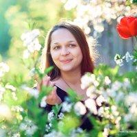 Надежда в цветах :: Valeriy Nepluev