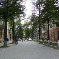 Улица  Тараса  Шевченко  в  Ивано - Франковске :: Андрей  Васильевич Коляскин