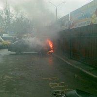 Пожар в Сумах :: EvgenSEN Стебловцев