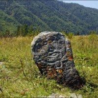 Образ древнего воина над захоронением :: Наталия Григорьева