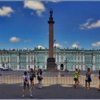на Дворцовой :: Дмитрий Анцыферов