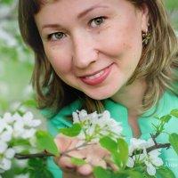 Белый яблонь цвет)) :: Анастасия Иванова