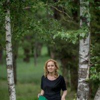 Прогулка среди берёз :: Андрей Печерский