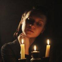 Со свечей :: Александра Печорина