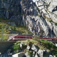 Поезд в горах :: Natalia Harries