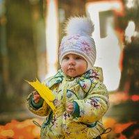Ребенок в парке :: Евгений Кузьминов