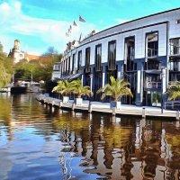 Голландское спокойствие. Река Амс. :: Виктор Никаноров