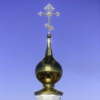 Купола в России кроют чистым золотом... :: Игорь Денисов