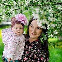 Кирочка и ее мама! :: Elena Gubar