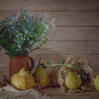 С яблоками и грушами :: Алина
