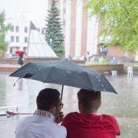 Когда идет дождь :: Светлана Яковлева