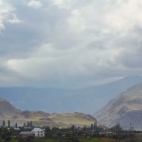 Вид на село с дороги :: M Marikfoto