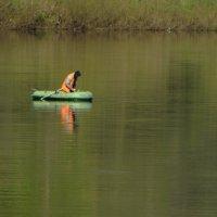 рыбалка....река Луга :: Михаил Жуковский