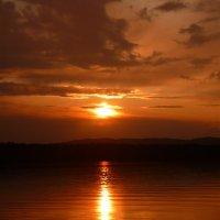 Закат на озере Иртяш :: Анастасия Романова