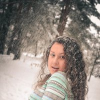 Припорошило снежком :: Анастасия Жигалёва