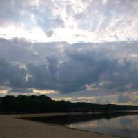 вечер над озером :: Ольга Богачёва