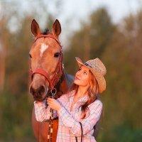 Девушка с лошадью :: Светлана Старикова