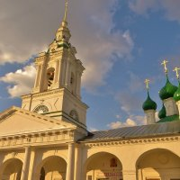 Церковь Спаса в рядах г. Кострома. :: Святец Вячеслав