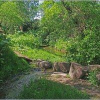 Каменная кладка через ручей. :: Роланд Дубровский