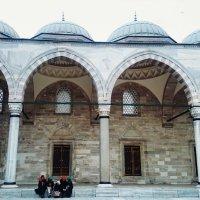 В мечети :: Татьяна Пустовалова