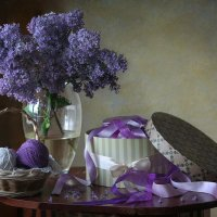 Сиреневый натюрморт :: lady-viola2014 -