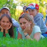 В парке горького Семья :: Ильназ Фархутдинов
