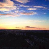 закат в Братске :: Мария Трапезникова
