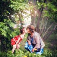 Бабушка и правнучка :: Anna Lipatova