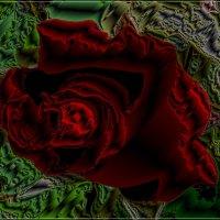 Пылающий цветок любви - в металле :: Нина Корешкова