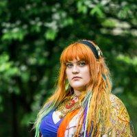 colour look :: Nina Zhafirova