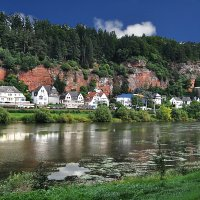Река Мозель около г.Трир(Германия) :: Евгений Дубинский