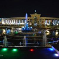 Крупнейший в городе фонтан. :: Anna Gornostayeva