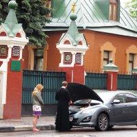 Крестины... для машины :: Николай Дони