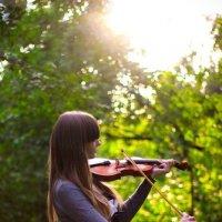 скрипка :: Настя Мордачева