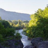 Вечерняя река :: Андрей Черных