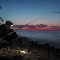 Ранний рыбак :: Андрей Бедняков