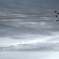 Авиашоу  в Сочи. Самолеты. :: Larisa Gavlovskaya