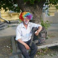 на автобусной остановке :: натальябонд бондаренко