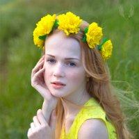 Весна в траве... Весна везде...)) Весна в веснушках на лице... :: Райская птица Бородина