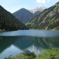 Озеро Кольсай :: Екатерина Шамелова