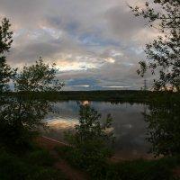Волга на закате уходящей весны :: Виктор Калабухов