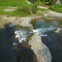 Река  Пистынька  в  Шешорах :: Андрей  Васильевич Коляскин